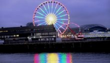 Seattle Great Wheel at Pier 57