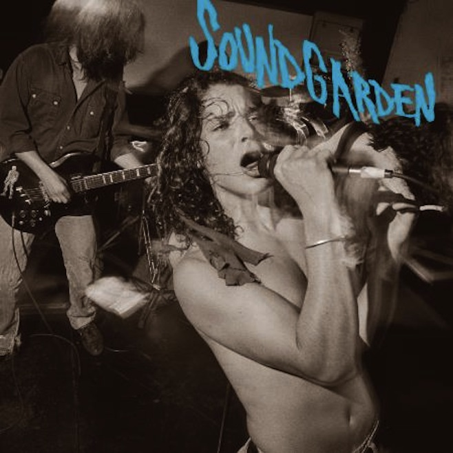 Cover artwork for Soundgarden's 'Screaming Life/Fopp' reissue