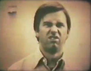 John Ritter 's expression after being crushed between 2 cars.