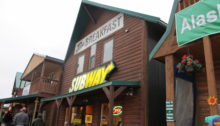 Exterior of Subway at Denali National Park