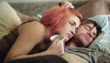 Kate Winslet and Jim Carrey in 'Eternal Sunshine of the Spotless Mind'.
