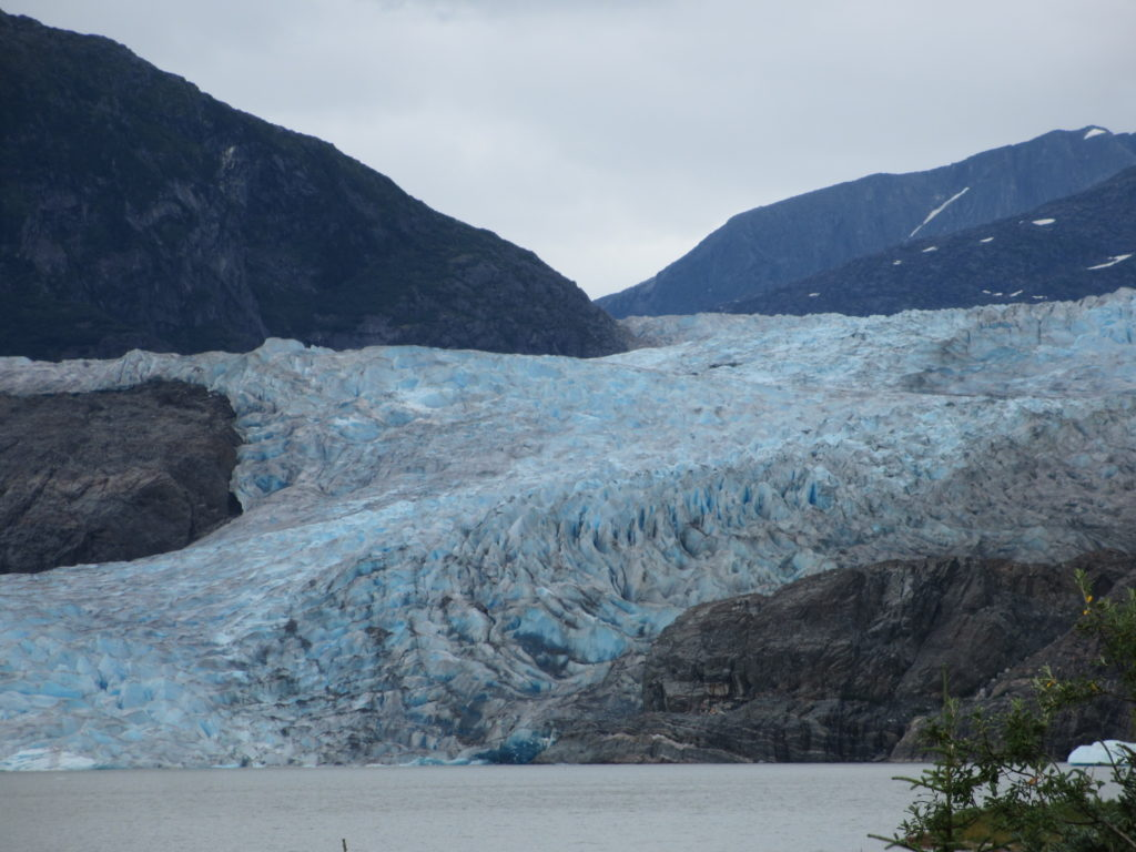 Mendenhall Glacier from Photo Point Trail