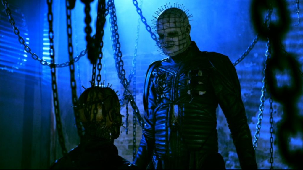 Pinhead, as played by Stephan Smith Collins in Hellraiser: Revelations.
