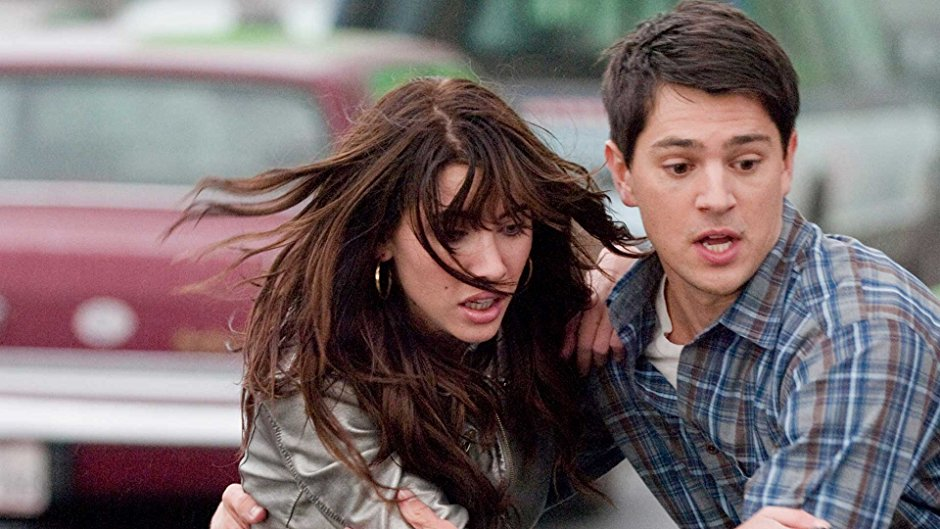 Jacqueline MacInnes Wood and Nicholas D'Agosto in 'Final Destination 5'. Image courtesy New Line Cinema.