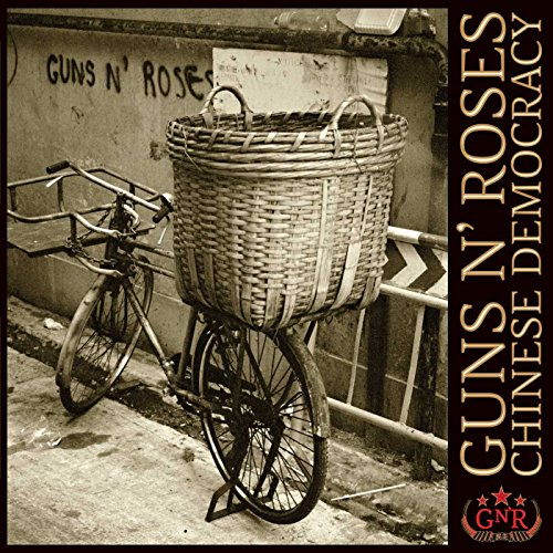 Album cover for Guns N' Roses 'Chinese Democracy'.