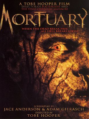 'Mortuary' Poster. Directed by Tobe Hooper. Image courtesy Echo Bridge Entertainment.