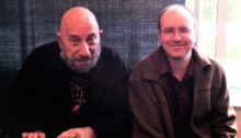 Erik Tomren with Sid Haig at Seattle's 2011 ZomBcon.